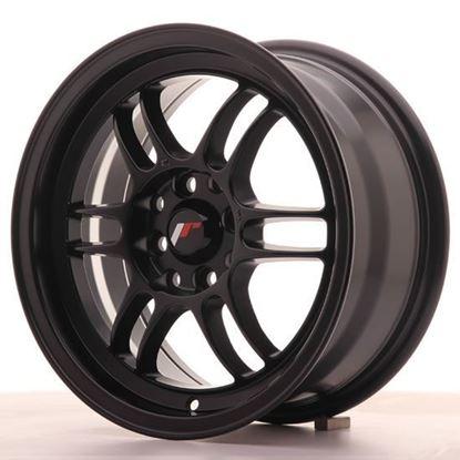 "15"" Japan Racing JR7 Matt Black Alloy Wheels"
