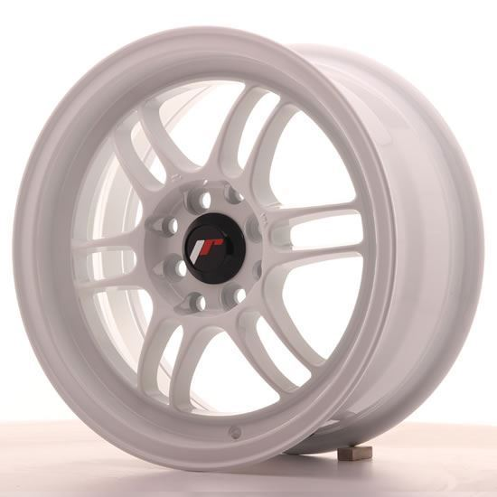 "15"" Japan Racing JR7 White Alloy Wheels"