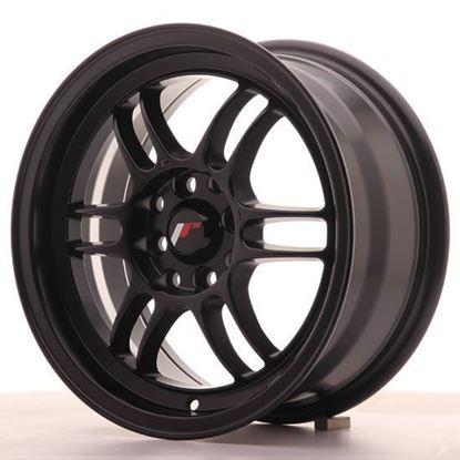 "16"" Japan Racing JR7 Matt Black Alloy Wheels"