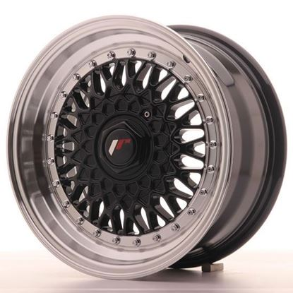 "15"" Japan Racing JR9 Gloss Black Alloy Wheels"