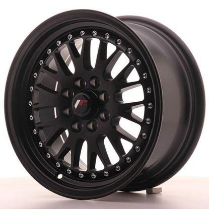 "15"" Japan Racing JR10 Matt Black Alloy Wheels"