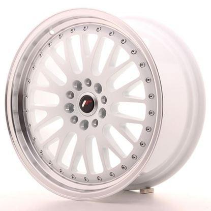 "15"" Japan Racing JR10 White Alloy Wheels"