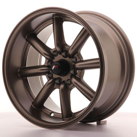 "15"" Japan Racing JR19 Matt Bronze Alloy Wheels"