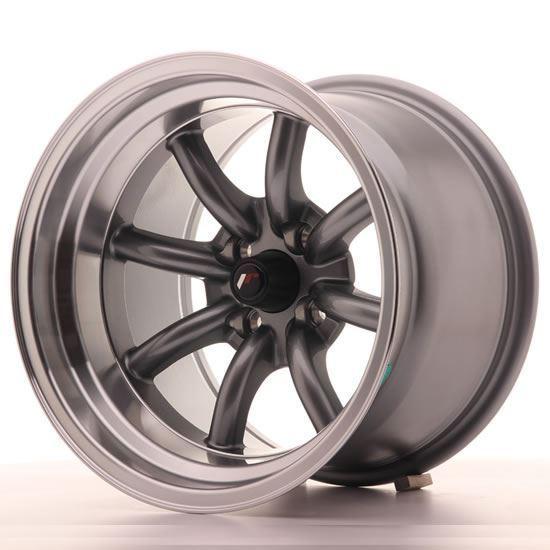 "15"" Japan Racing JR19 Gunmetal Alloy Wheels"