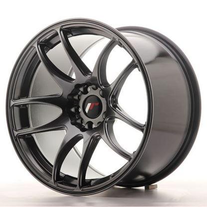 "15"" Japan Racing JR29 Hyper Black Alloy Wheels"