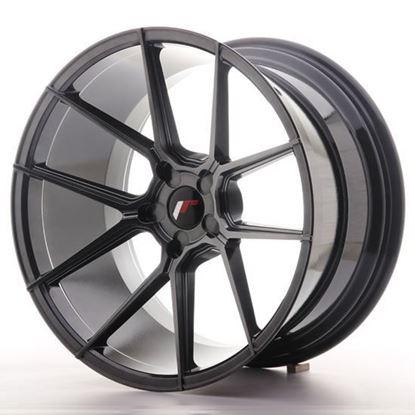 "19"" Japan Racing JR30 Hyper Black Alloy Wheels"