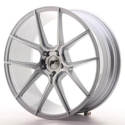 "19"" Japan Racing JR30 Silver Machined Alloy Wheels"