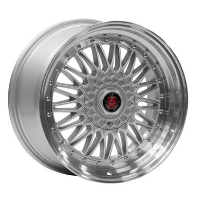 "17"" Axe RS Silver Mirror lip Alloy Wheels"