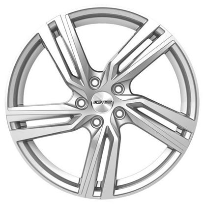 """17"""" GMP Arcan Silver Alloy Wheels"""