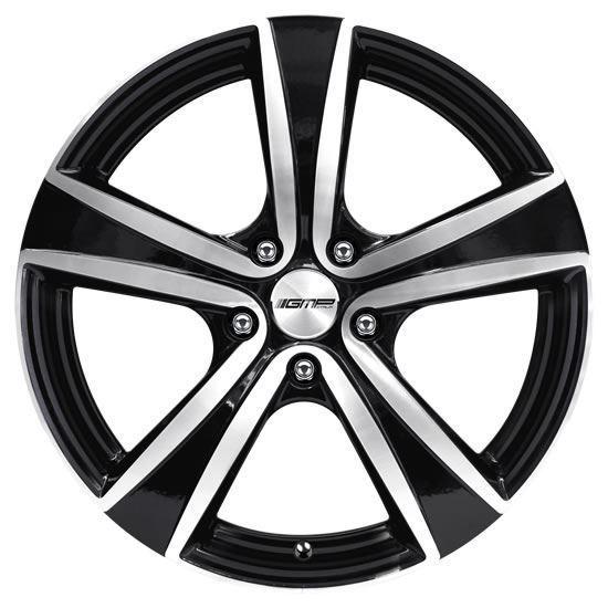 "15"" GMP Argon Black Diamond Alloy Wheels"
