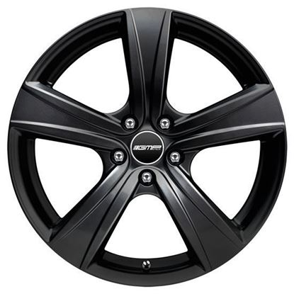 "15"" GMP Argon Matt Black Alloy Wheels"
