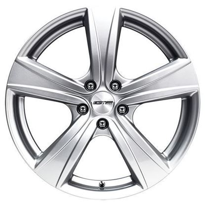 "16"" GMP Argon Silver Alloy Wheels"