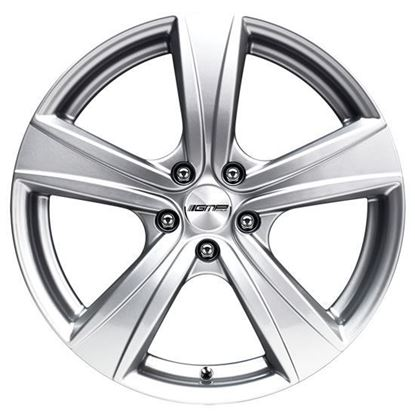 "17"" GMP Argon Silver Alloy Wheels"