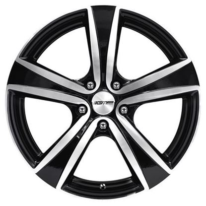 "17"" GMP Argon Black Diamond Alloy Wheels"