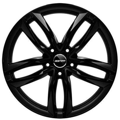 "17"" GMP Atom Gloss Black Alloy Wheels"