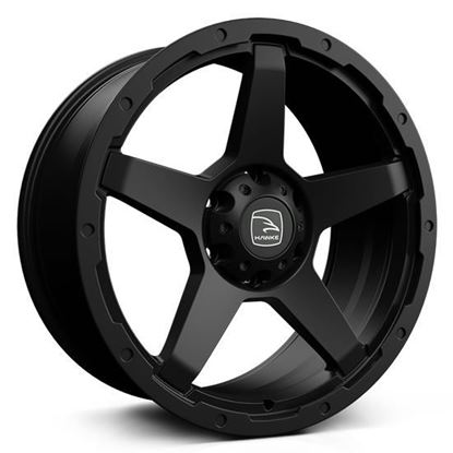"18"" Hawke Eiger Matt Black Alloy Wheels"
