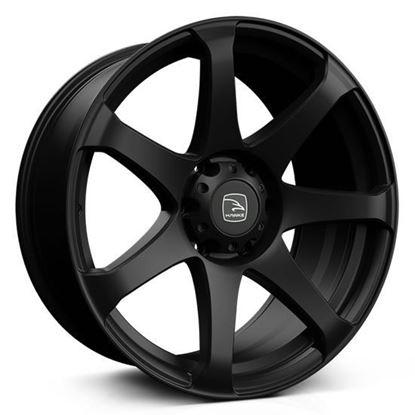"20"" Hawke Peak XD Matt Black Alloy Wheels"