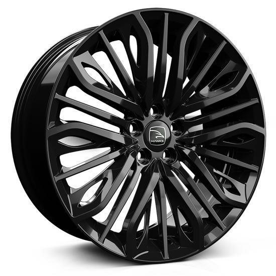 "22"" Hawke Vega Gloss Black Alloy Wheels"