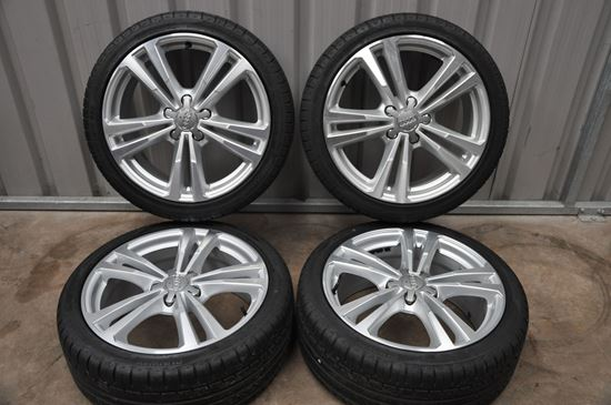 """Genuine 18"""" Audi A3 S-line Alloys and Tyres."""