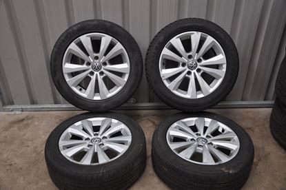Used 16in Volkswagen Alloys and Tyres (5x112)