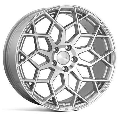 "18"" Veemann V-FS42 Silver Machined"