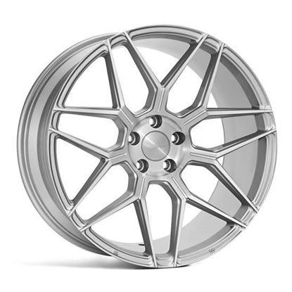"19"" Veemann V-FS38 Silver machined Alloy Wheels"