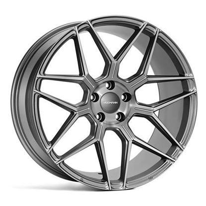 """19"""" Veemann V-FS38 Gloss Graphite Alloy Wheels"""