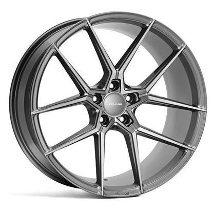 """19"""" Veemann V-FS39 Gloss Graphite Alloy Wheels"""