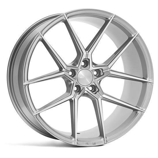 "19"" Veemann V-FS39 Silver machined Alloy Wheels"