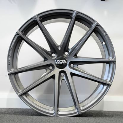 "20"" AVA HSF-001 Matt GunMetal Alloy Wheels"
