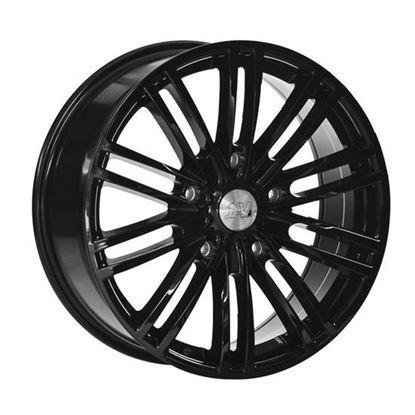 "20"" 1AV Transit Gloss Black Alloy Wheels"