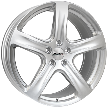 Calibre Tourer Style Alloy Wheels - Silver