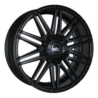 "20"" Bola B20 Matt Black Transit Custom Alloy Wheels"
