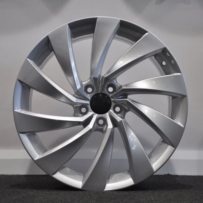 "18"" RAW Scirocco 2 Style Silver"