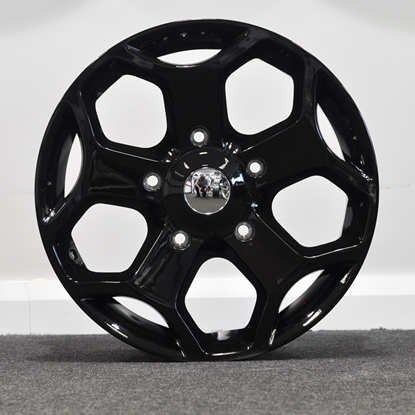 RAW Transit ST Style Alloy Wheels - Black