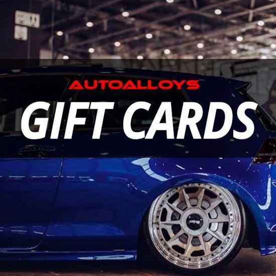 Gift Cards - Now available from Auto Alloys!
