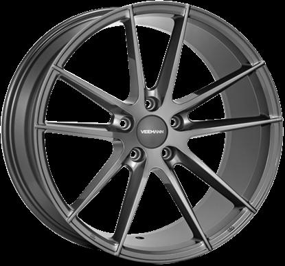 """19"""" Veemann V-FS25 Gloss Graphite Alloy Wheels"""