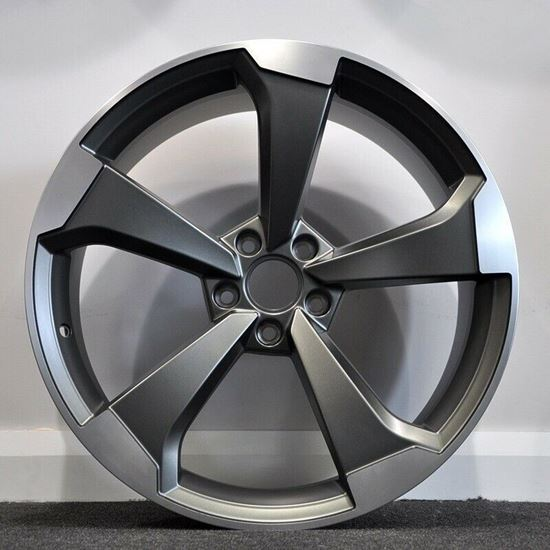 """Picture of 18"""" RAW Black Edition Style Satin Gunmetal"""