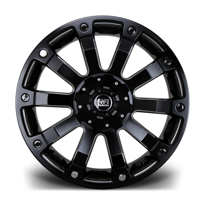"17"" Riviera RX500 Black Machined Alloy Wheels"