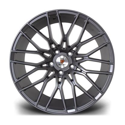 """19"""" Stuttgart ST8 Matt Gunmetal Alloy Wheels"""