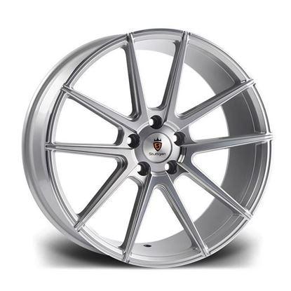 "20"" Stuttgart ST9 Silver Polished Alloy Wheels"