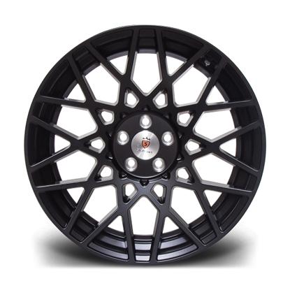 """18"""" Stuttgart ST10 Satin Black Alloy Wheels"""