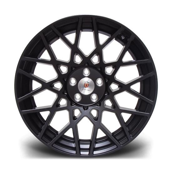 """Wheel Offset Calculator Visual >> 18"""" Stuttgart ST10 Satin Black Alloy Wheels - Alloy Wheels NI - Alloy Wheels from Autoalloys.com"""