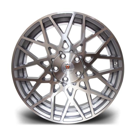 "18"" Stuttgart ST10 Silver Polished Alloy Wheels"