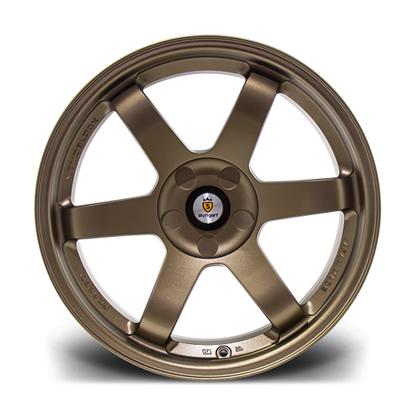 """17"""" Stuttgart ST16-N Bronze Alloy Wheels"""