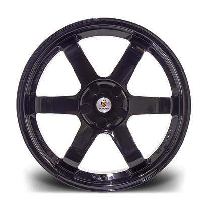 """17"""" Stuttgart ST16-N Gloss Black Alloy Wheels"""