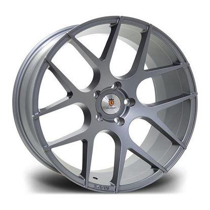 """20"""" Stuttgart ST25 Gunmetal Alloy Wheels"""