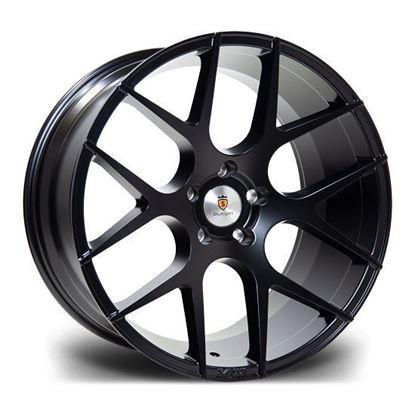 """20"""" Stuttgart ST25 Satin Black Alloy Wheels"""