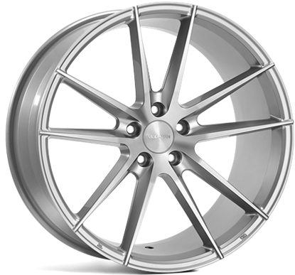 "18"" Veemann V-FS25 Silver Machined Alloy Wheels"