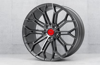 """19"""" Veemann V-FS41 GRAPHITE-SMOKE-MACHINED Alloy Wheels"""